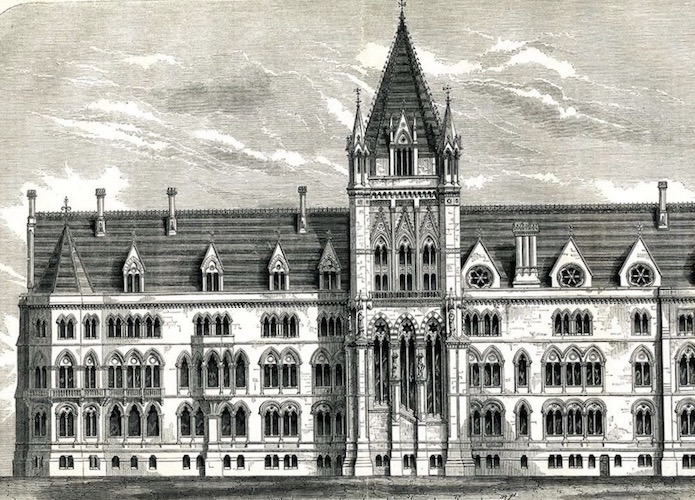 Vic Keegan's Lost London 140: The Gothic Foreign Office that never was