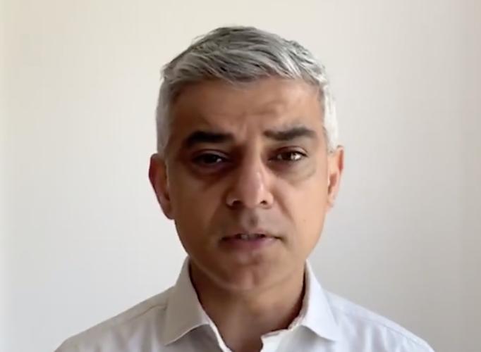 London coronavirus peak still 'probably a week and a half away' says Sadiq Khan