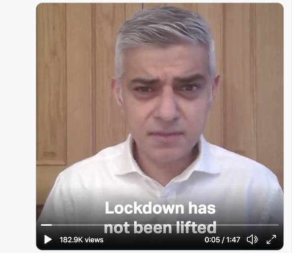 Dave Hill: London should listen to its own leaders over lifting lockdown