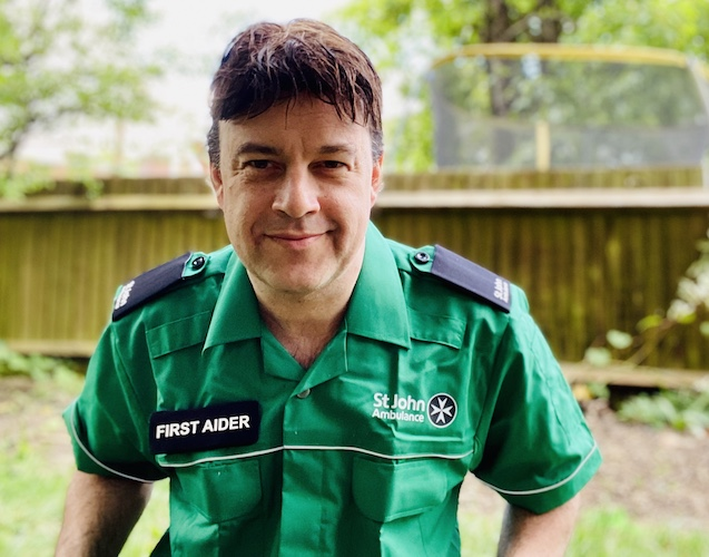 Pádraig Belton: The many joys of being a London Covid St John Ambulance volunteer