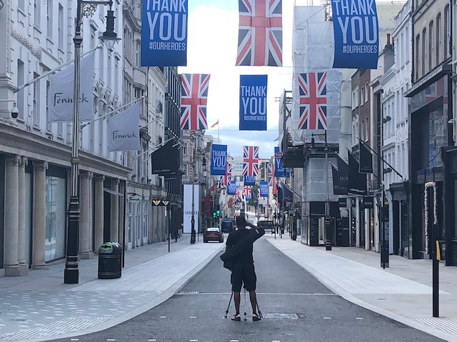 London's 'non-essential' shops begin emergence from Covid lockdown