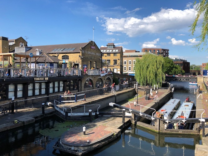 Camden Market: Slow business and low takings as traders edge out of lockdown