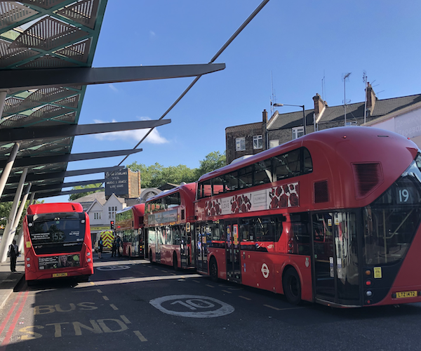 'Near complete return' to normal London bus fare-paying achieved, says TfL