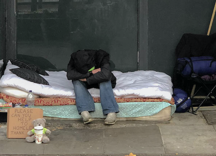 What has happened with London rough sleeping as Covid lockdown has eased?