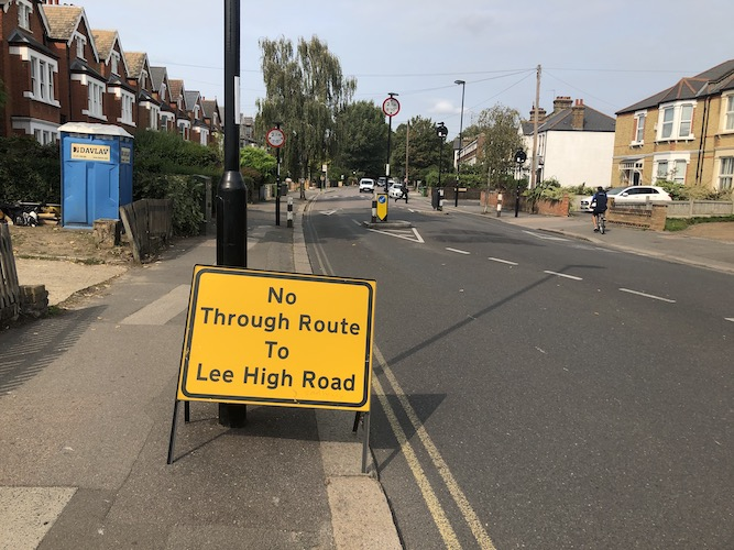 Lewisham: Council to announce changes to Low Traffic Neighbourhood