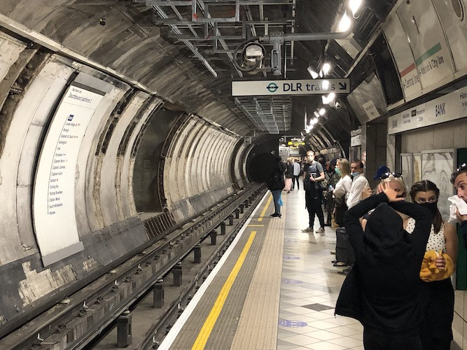 Bank station upgrade tunnelling completed