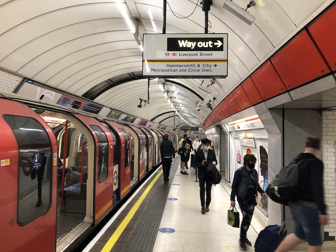 New London Lockdown: What's happening with public transport this time?
