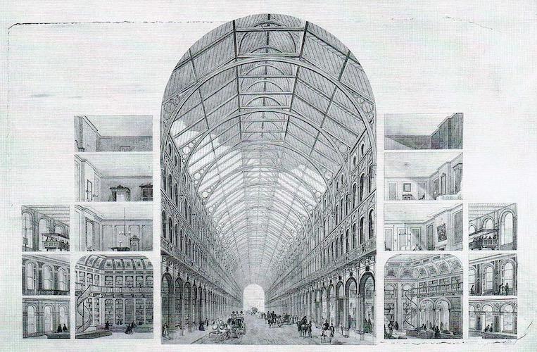 Vic Keegan's Lost London 167: Paxton's unbuilt Paradise