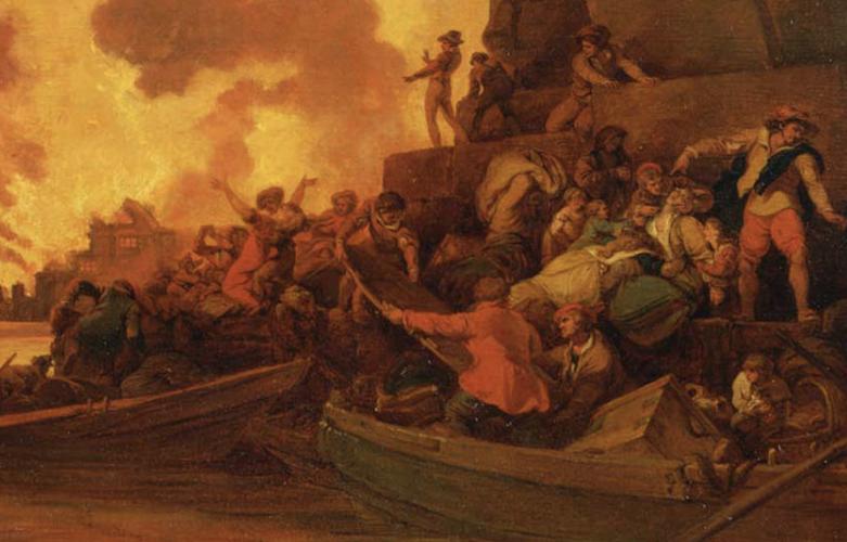 Vic Keegan's Lost London 163: The original Great Fire