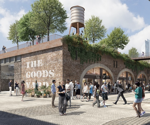 Bishopsgate Goodsyard plans recommended for approval by City Hall planners