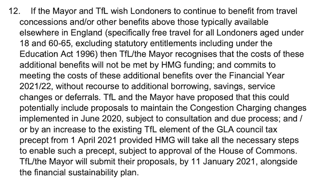 Funding agreement council tax section