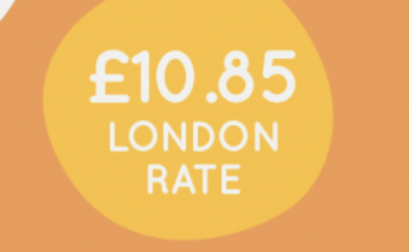 London Living Wage rises to £10.85 an hour