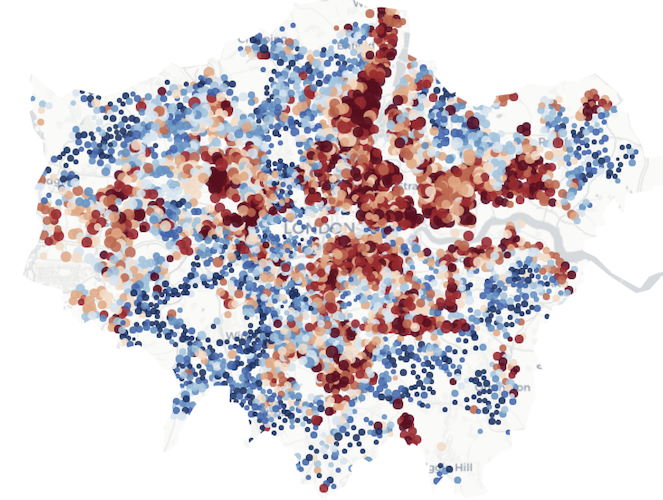 London's most deprived neighbourhoods hit hardest by job losses under Covid
