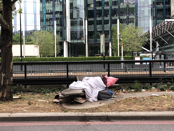 London rough sleeping. What has been learned from the Everyone In pandemic response?