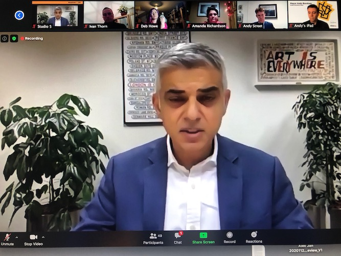 Sadiq Khan accuses Gavin Williamson of 'levelling down London' by cutting higher education teaching grant