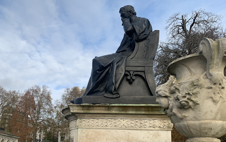 Vic Keegan's Lost London 173: The sidelined statue of Edward Jenner, vaccination pioneer