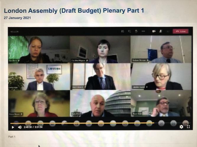 Sadiq Khan's draft budget approved despite Assembly opposition
