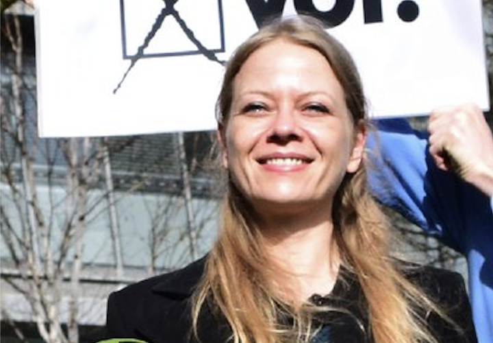 I would 'deprioritise' policing of cannabis in London if elected Mayor, says Green Party's Sian Berry