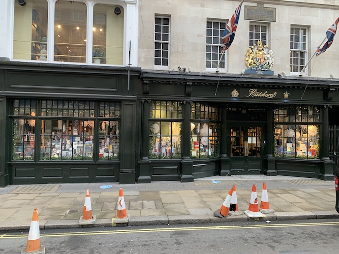 Vic Keegan's Lost London 183: Hatchards bookshop, royal groceries and flowers