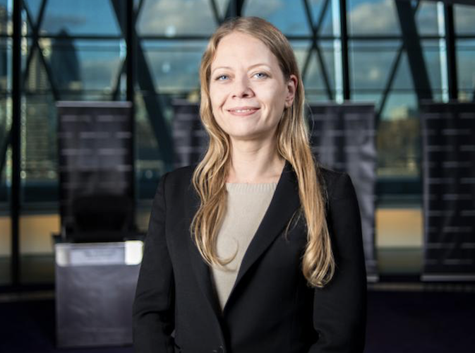 Sian Berry sets out Green vision of a 'different economy' for London at Chamber of Commerce event