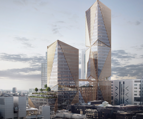 City gives planning consent for third new tall office building this year