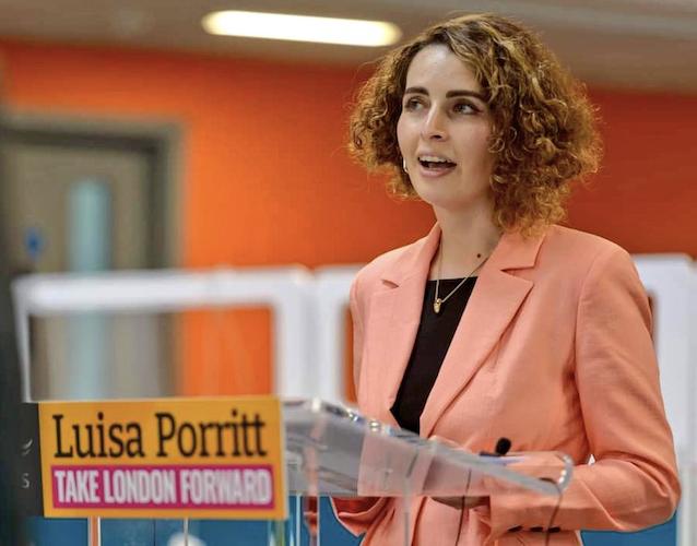 Liberal Democrat London Mayor candidate Luisa Porritt launches party's manifesto