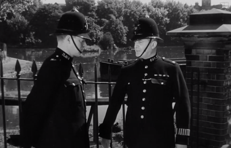 The London of The Blue Lamp and Dixon of Dock Green