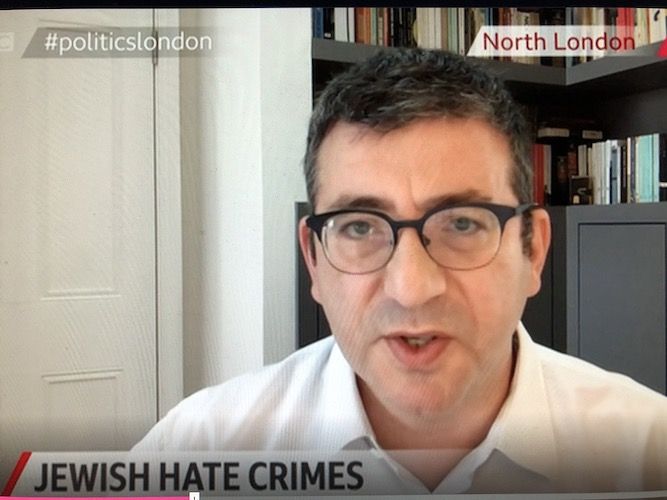 Community leader describes 'awful human impact' on London's Jews of rise in antisemitism