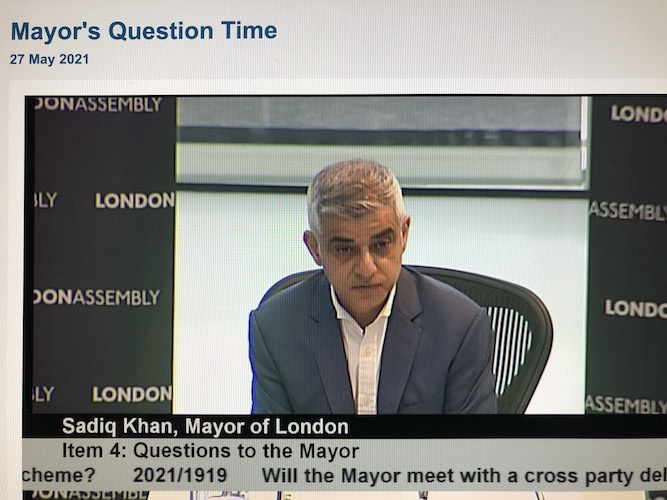 Sadiq Khan warns that government planning reforms threaten London local democracy and high streets
