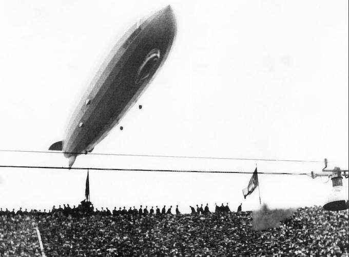 The Graf Zeppelin Cup Final, Wembley 1930