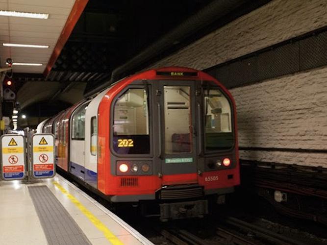 London Underground Waterloo & City line re-opens