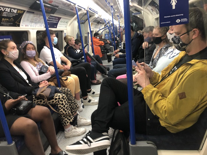 London public transport use continues to pick up, TfL figures show