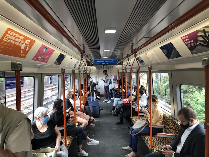 Dave Hill: Keeping masks on London's public transport mandatory is in the national interest