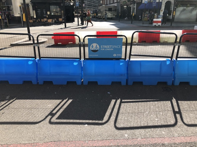 Transport for London prepares to review temporary Streetspace schemes