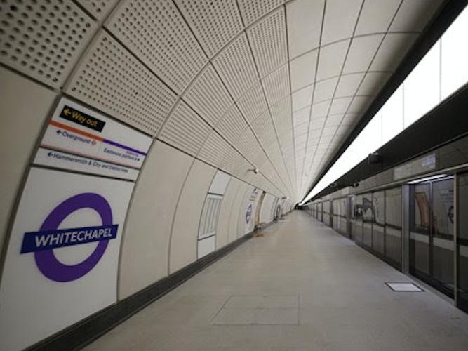 Whitechapel Elizabeth line station transferred to TfL control