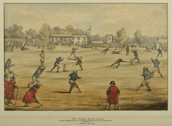 Vic Keegan's Lost London 208: A very special cricket match in Walworth