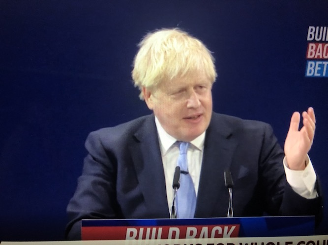 Adam Bienkov: Boris Johnson's conference speech said 'levelling up' is for all, but his anti-London message was clear