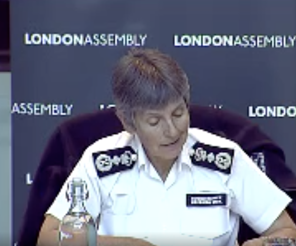 Cressida Dick pledges change and reassurance from Metropolitan Police and strongly defends stop-and-search