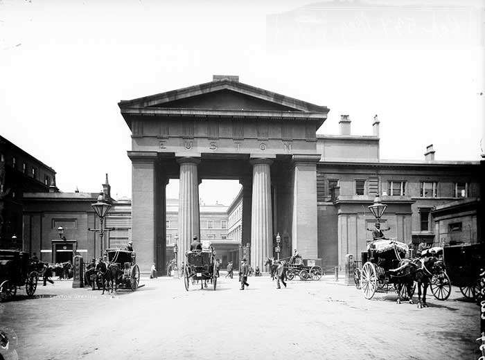 Euston Arch: forward to the past with High Speed 2?