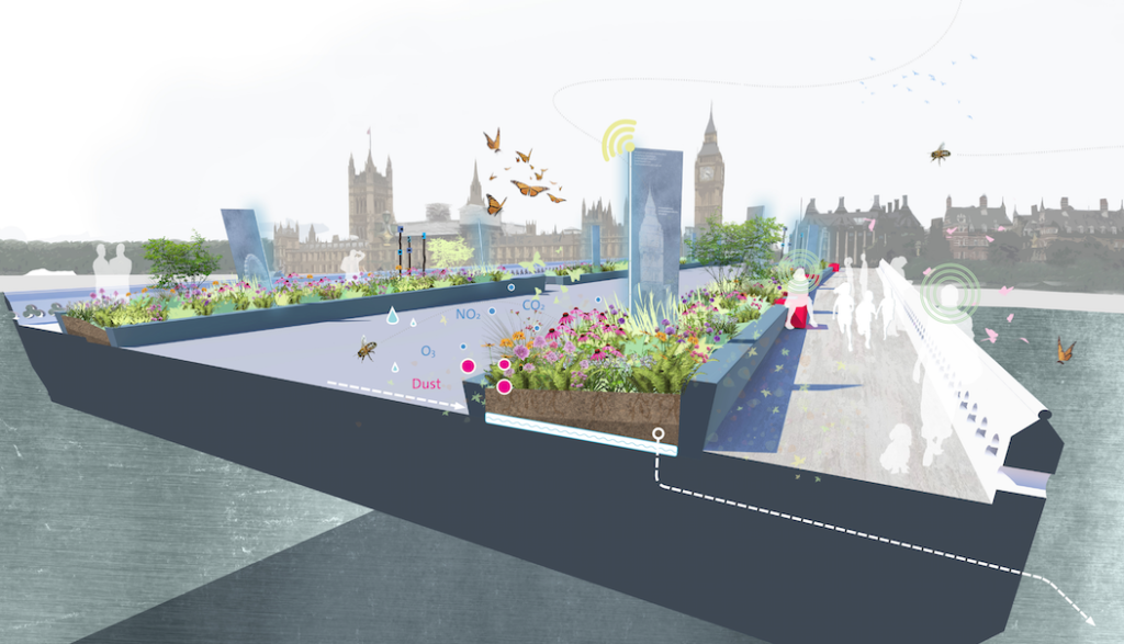 Guest article: let's beat terror by making London's bridges bloom