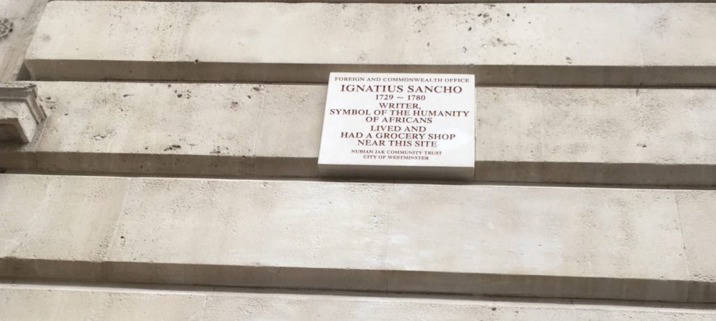 Vic Keegan's Lost London 29: traces of Ignatius Sancho