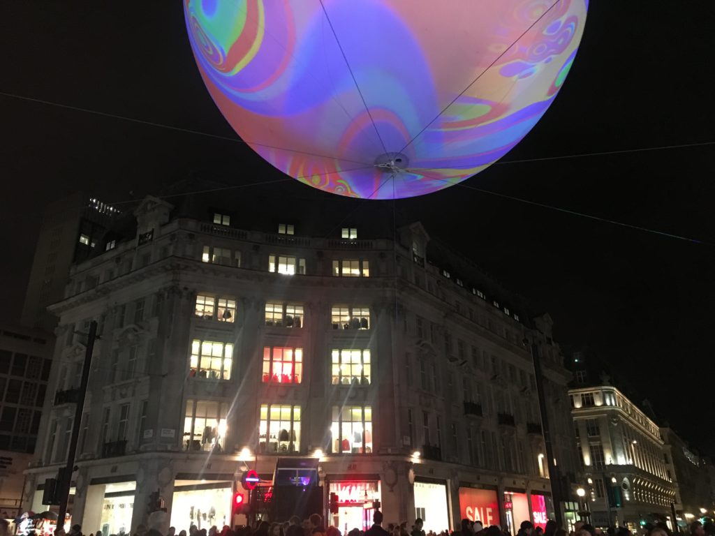 Even a flying visit to Lumiére London was far better than none