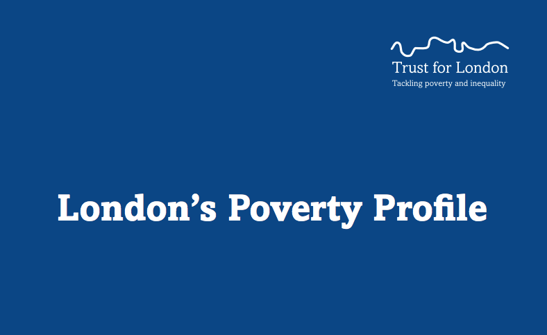 More than half of London's 2.3 million in poverty are in working families, says report
