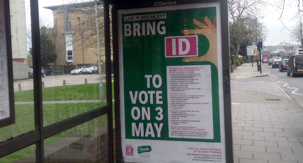 Voter ID in Bromley: what do local students think?