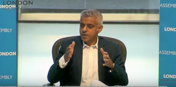Brexit will make London less safe unless government acts on security concerns, says Sadiq Khan