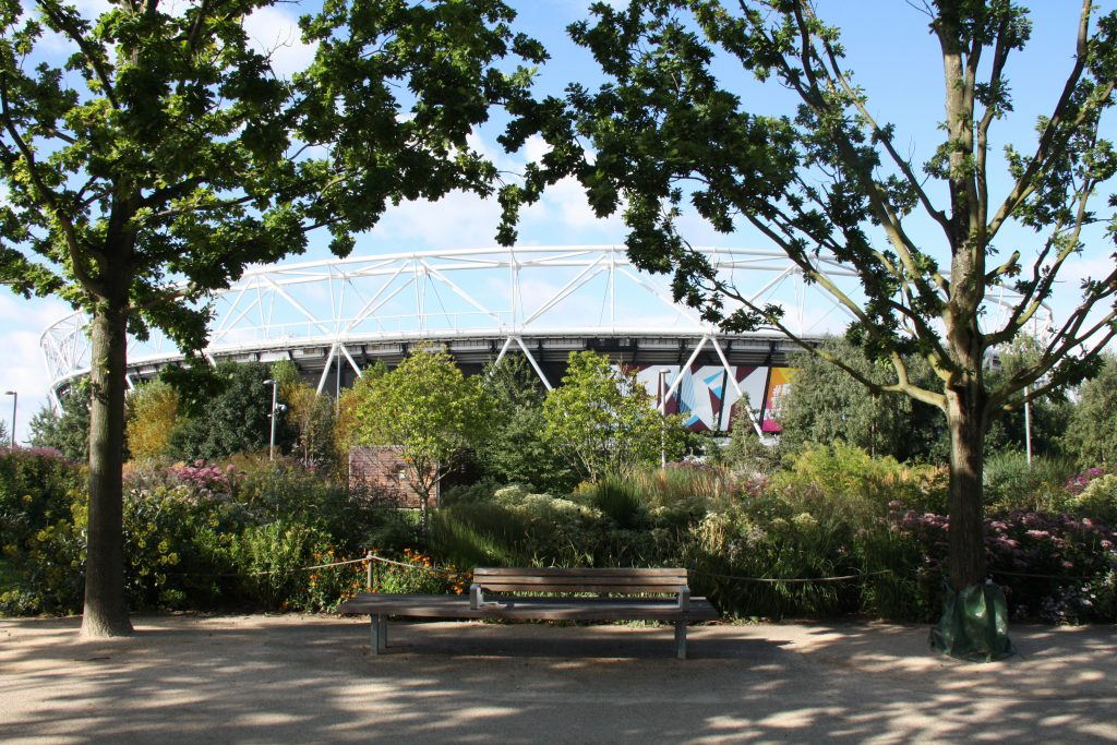 London 2012 Olympic Park: landscape of dispersal and renewal