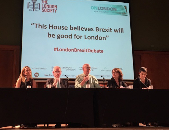 The London Brexit Debate – in full