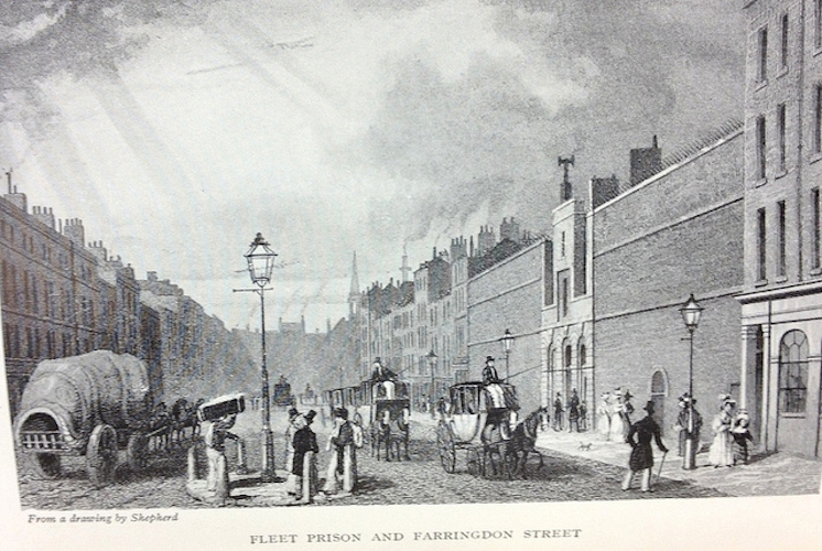 Vic Keegan's Lost London 57: Fleet Prison