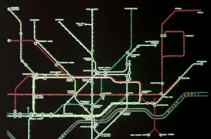 Victoria Line at 50: four films about how it was constructed