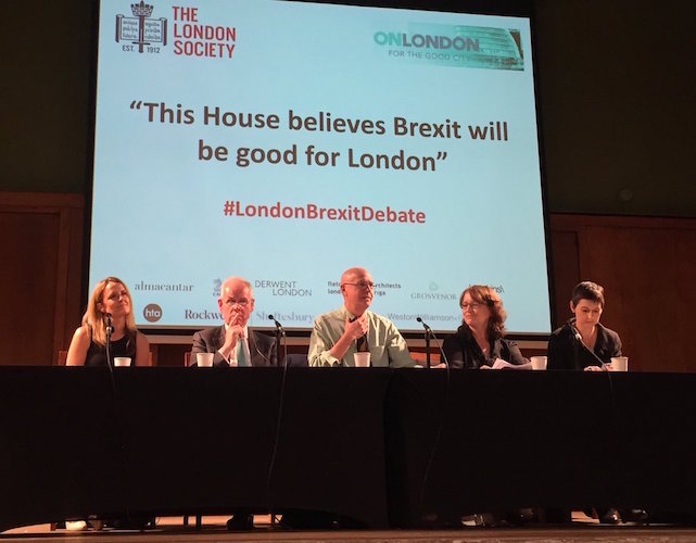 The London Brexit Debate: strong speeches and testing questions at Conway Hall